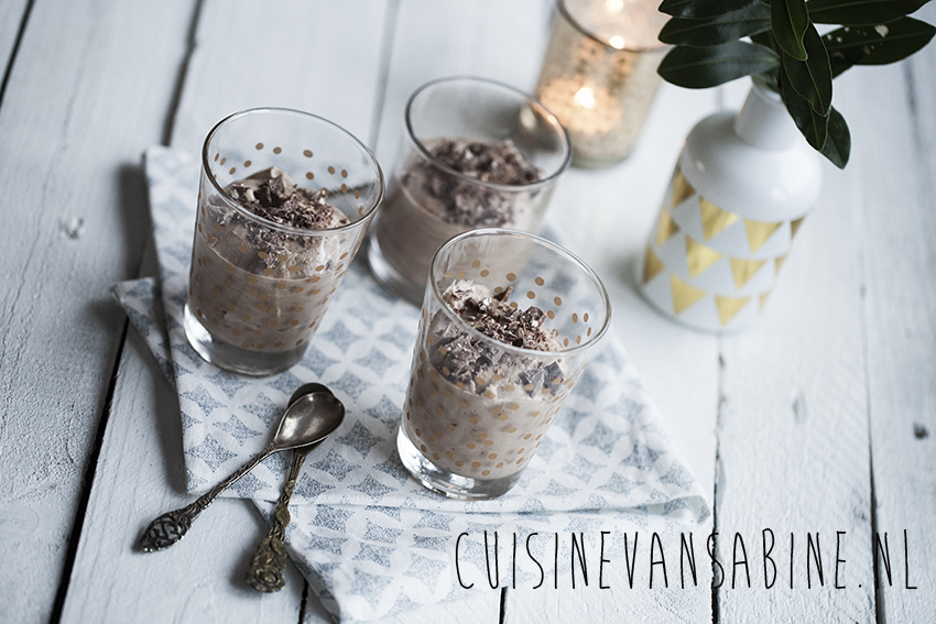 Toblerone chocolade mousse