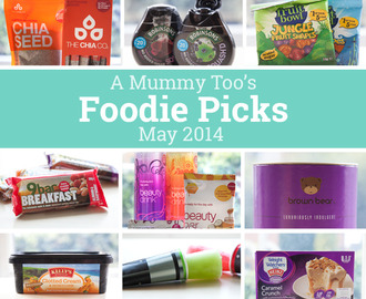 Foodie picks for May