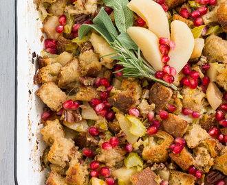 Pear Stuffing and a Giveaway!