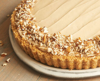 Brown Sugar Banana No-Bake Cheesecake