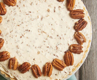 Butter Pecan Cheesecake