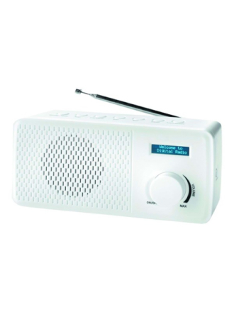 DAB portable radio DAB-41 - DAB portable radio - Vit