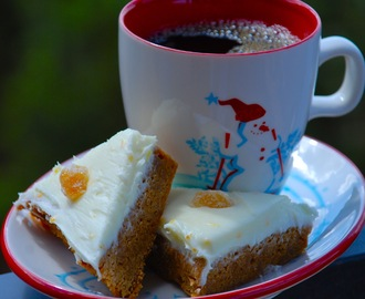 Starbucks Gingerbread Bars