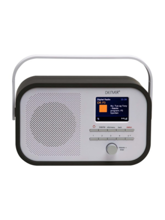 DAB portable radio DAB-40 - DAB portable radio - Grå