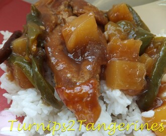 Sweet and Sour Baked Chicken