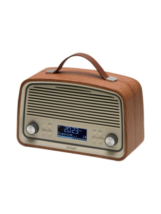 DAB portable radio DAB-38 - DAB portable radio - Brown