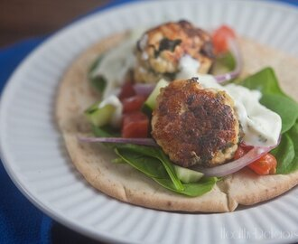 Chicken, Spinach, and Feta Meatballs