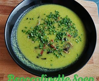 Broccoli Courgette Soep / Broccoligette Soep