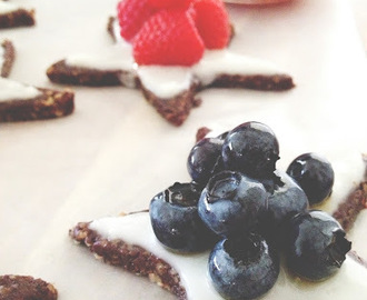 RECIPE: Red, White, Blue Brownie Stars