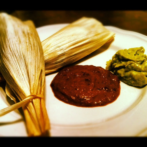 straight off the tamale production line...