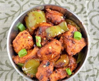 Chilli Chicken (Dry version)