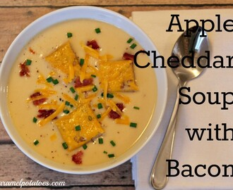 Apple-Cheddar Soup with Bacon