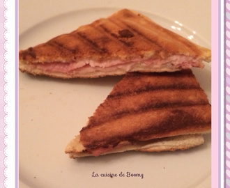 Croque monsieur à la cancoillotte WW