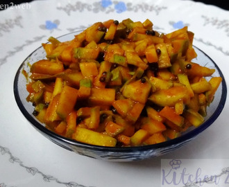Instant Cut Mango Pickle(No Vinegar and No Preservative)