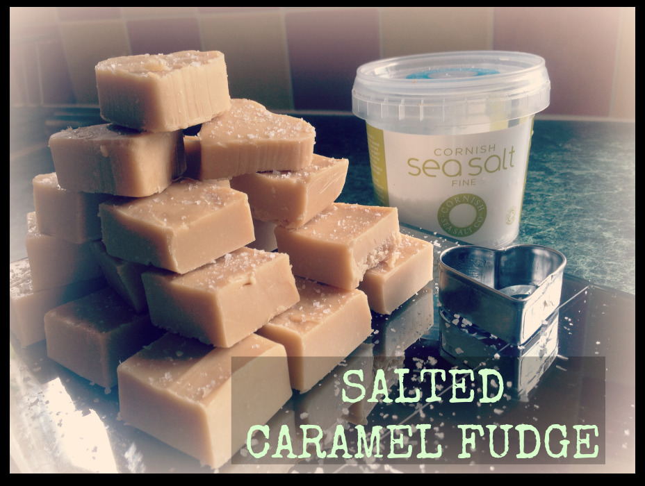Salted Caramel Fudge. Mmmm!!