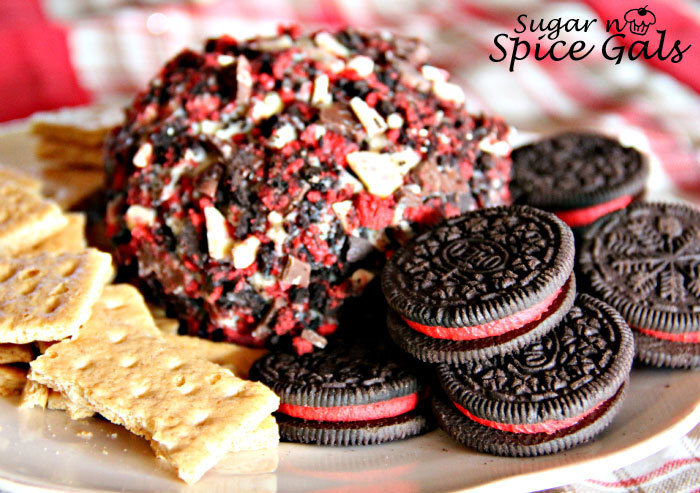 Peppermint Cookie Cheeseball