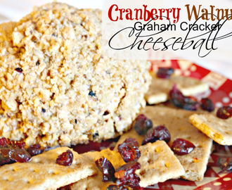 Cranberry Graham Cracker Cheeseball