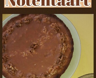 Caramel notentaart