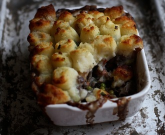 Venison Cottage Pie With Spring Onion Mash