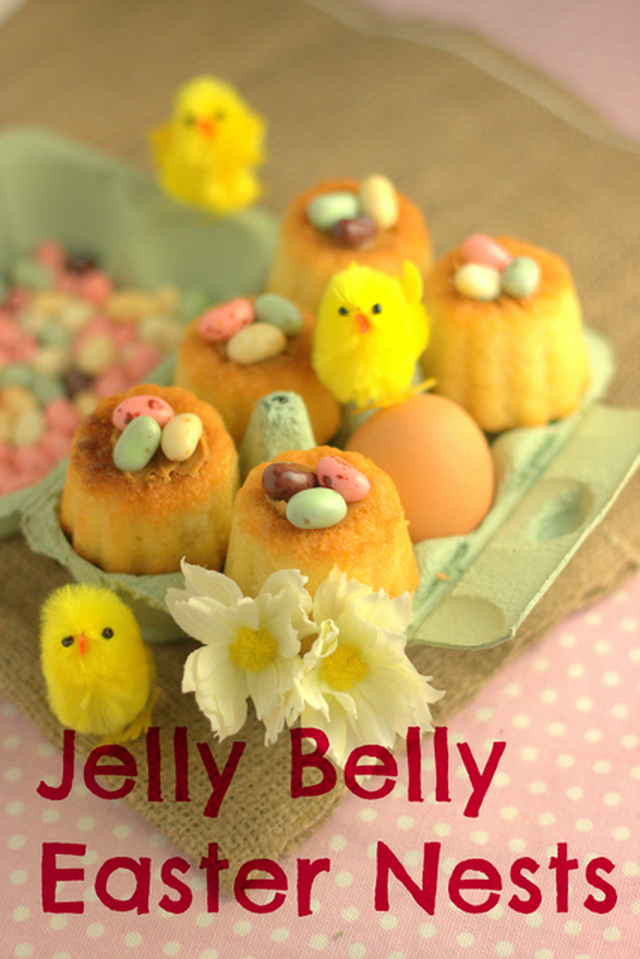 Recipe: Jelly Belly Jelly Bean Easter Nests