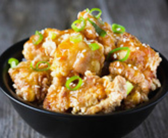 Orange Chicken – Kip in Sinaasappelsaus