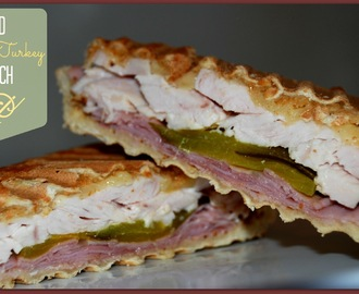 Grilled Ham and Turkey Sandwich