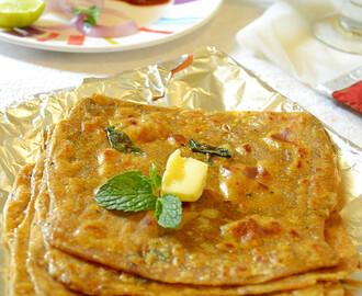 How to make Dal Paratha – Dal Paratha Recipe / Indian Paratha Recipes