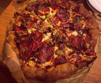 MATTY'S RED HOT MEAT FEAST PIZZA