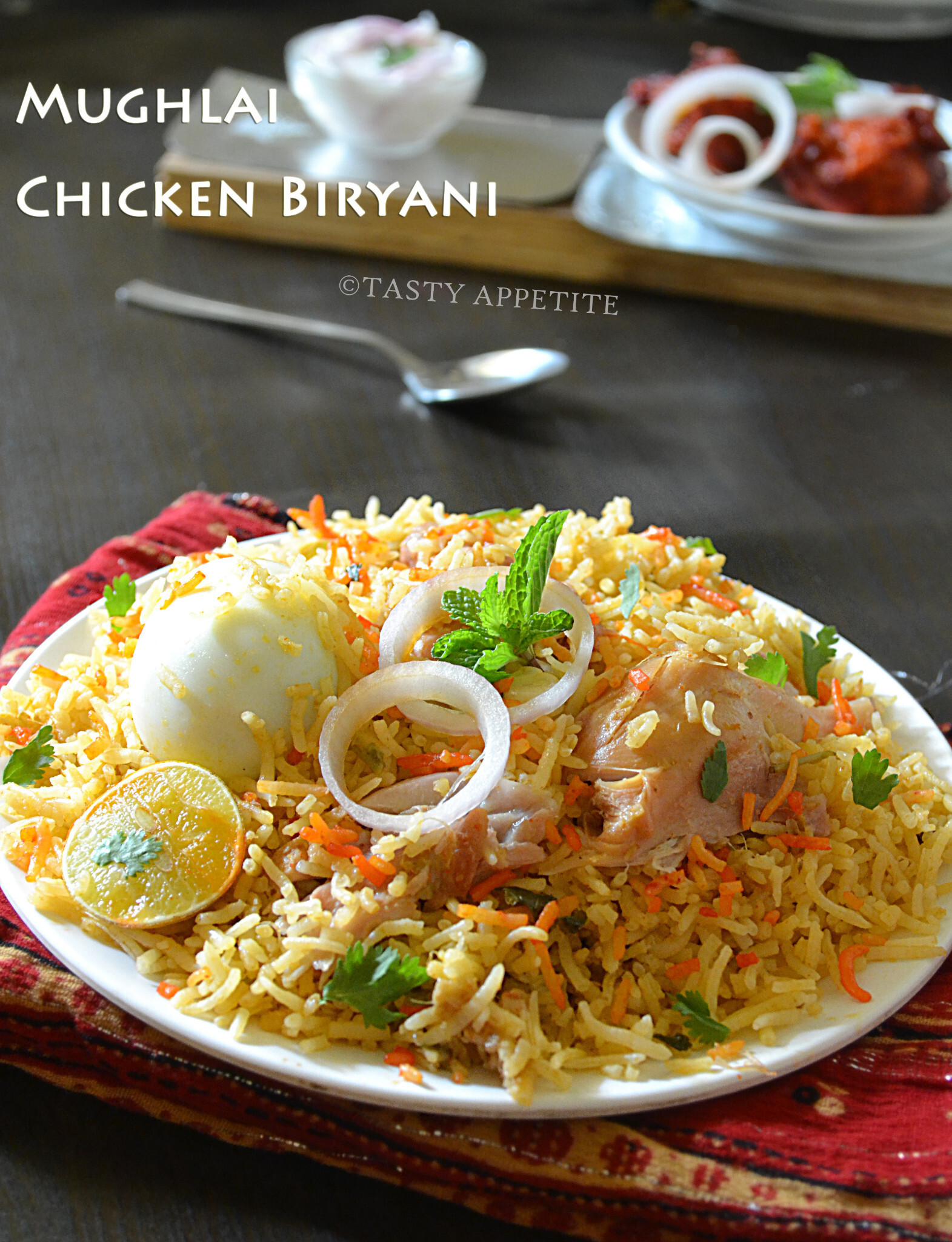 How to make Mughlai Biryani – Mughlai Chicken Biryani /  Spicy Biryani Recipes: