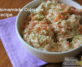 Homemade Coleslaw Recipe