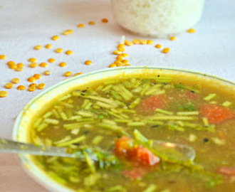 How to make Paruppu Rasam / Dal Rasam / South Indian Special recipe :