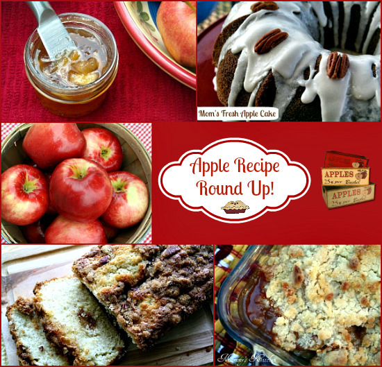 Apple Recipe Round Up {Happy Fall Y'all}