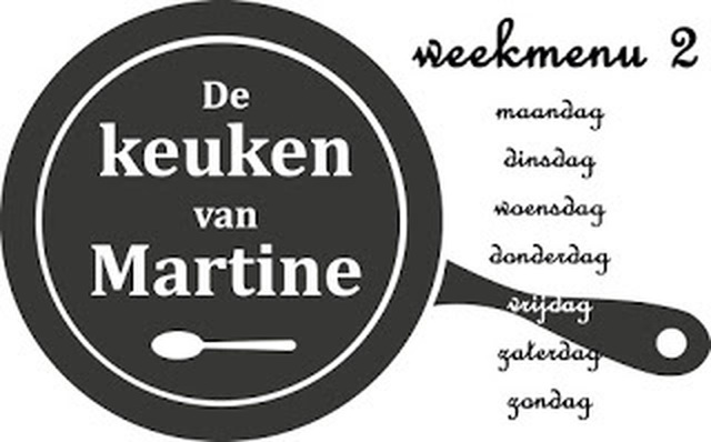 Weekmenu Grip op Koolhydraten 2