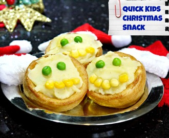 Spiced Santa Pudding Pies