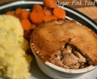 Slimming World Recipe:- Creamy Chicken & Mushroom Pie