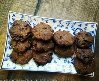 OH MY OATS: Double Chocolate Cookies! #voordeliefdevanchocolade