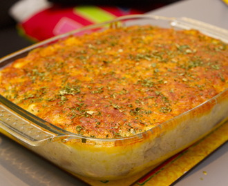 Chicken baked cheesy rice recipe by Stephanie