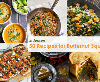 In Season – 50 Recipes for Butternut Squash