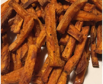 Sweet Potato Fries {Color y Sabor de Temporada} {Boniato}