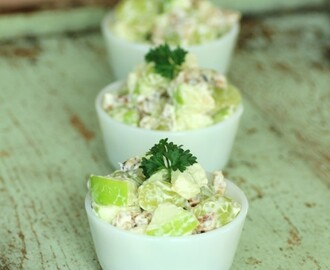 Waldorf Salad for Crunchy Goodness #SundaySupper