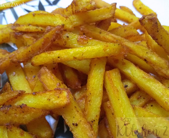 Masala Potato Finger Fries