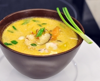 Zupa tajska – Thai tom yum
