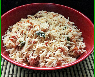 Tomato rice (Thakali sadham)No onion&garlic recipe