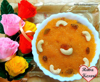 KESARI RECIPE | RAVA KESARI | EASY SWEET RECIPE