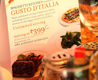 Restaurant Review - Spaghetti Kitchen And Bar - Gusto D'Italia