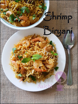 Shrimp Biryani Using Instant Pot