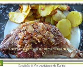 Recettes de cuisses de canard la moutarde mytaste - Comment cuisiner des cuisses de canard ...