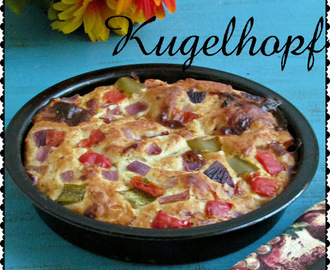 Kugelhopf - An eggless, savoury bread with step by step pictures - International food challenge # 2