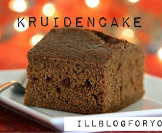 How to bake: Kruidcake