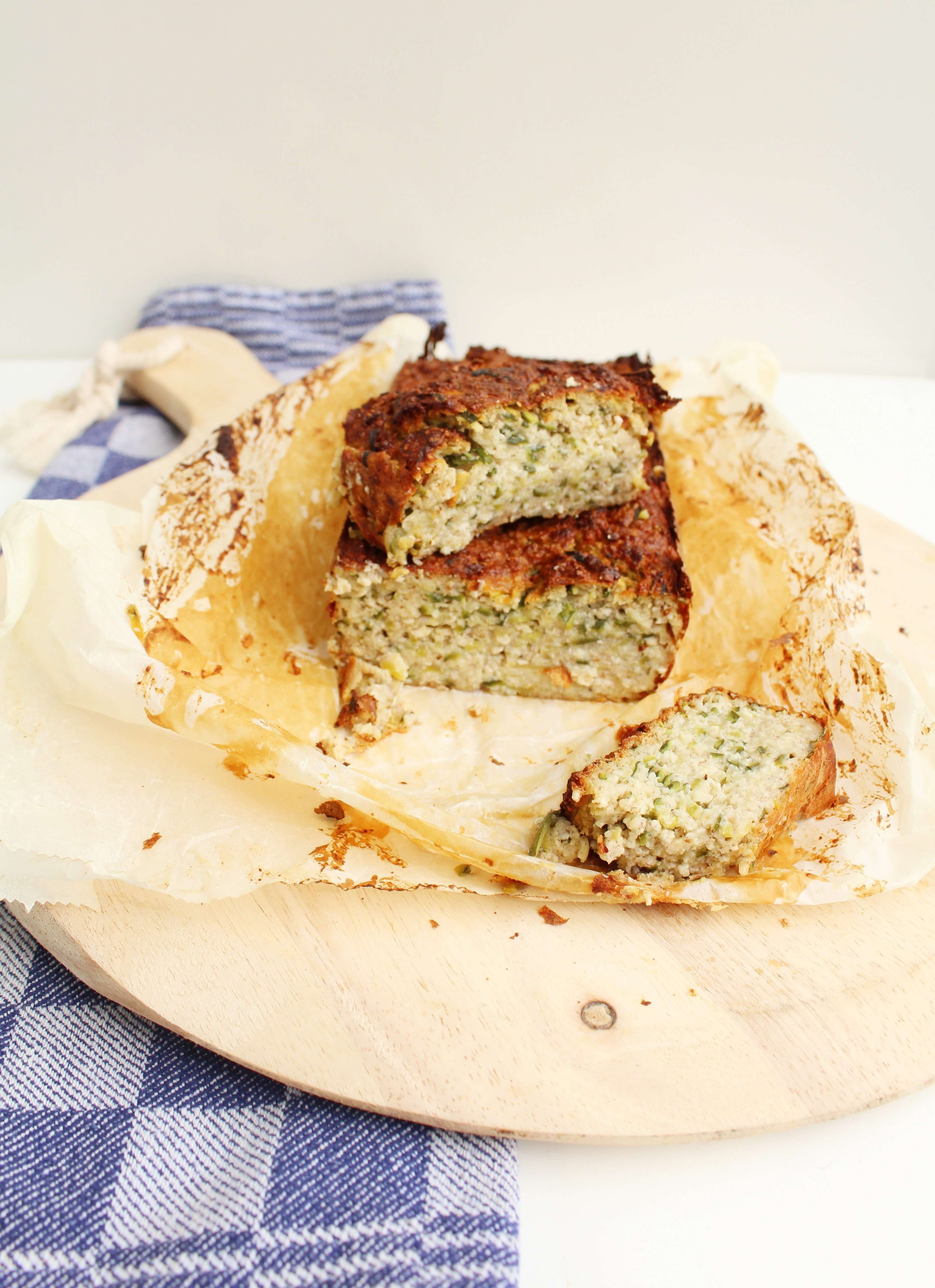 Courgette bananenbrood